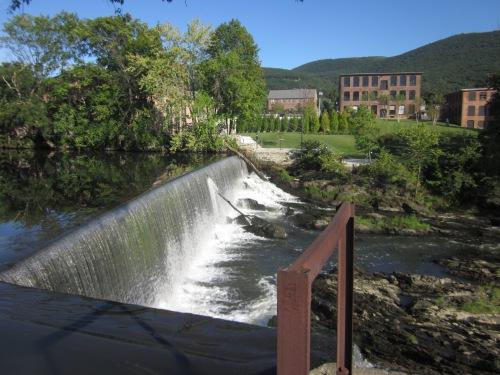 Waterfall in Beacon, New York