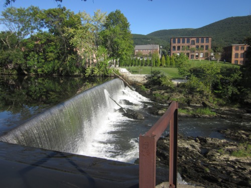 Waterfall in Beacon, New York