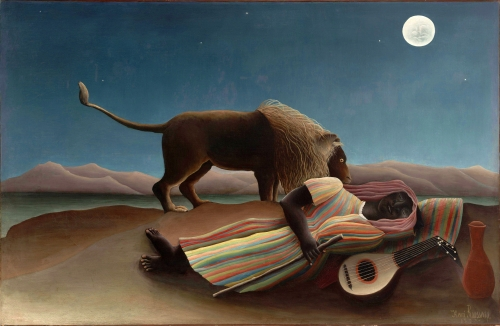 The Sleeping Gypsy, by Henri Rousseau