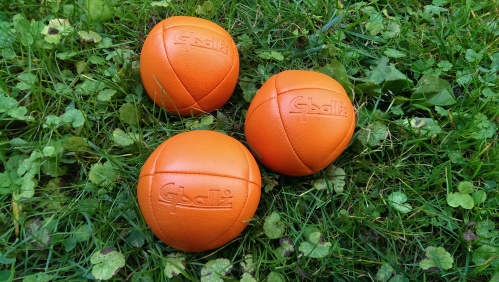 The balls I juggled for 26.2 miles.